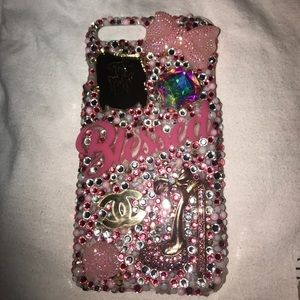 Bedazzled phone case